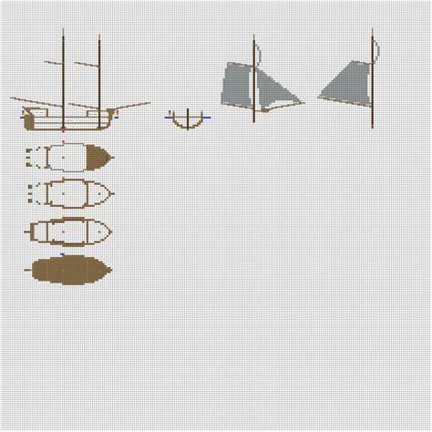 minecraft boat layout minecraft blueprints for a ship www pixshark