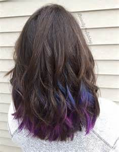 peekaboo hair colors 1000 ideas about peekaboo color on inverted