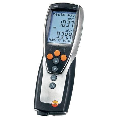speed of sound testo testo 435 2 multifunction instrument vac iaq testo