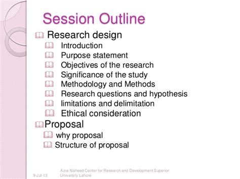 research design and proposal writing research design and proposal writing