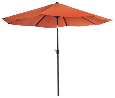 Patio Umbrella Garden Garden Aluminum Patio Umbrella With Auto Tilt