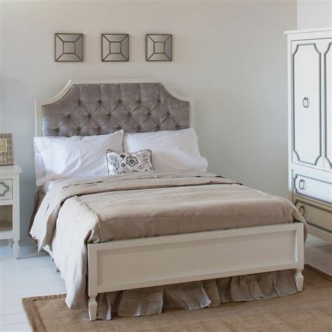 beverly tufted bed by newport cottages rosenberryrooms