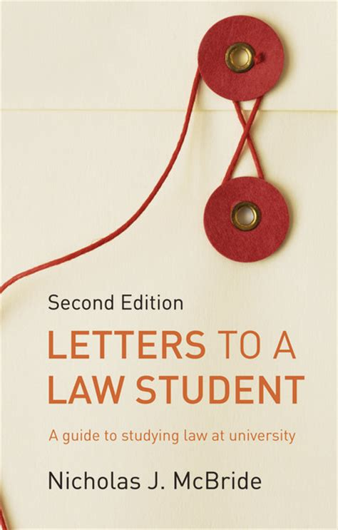 pearson education letters to a law student