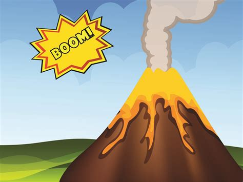 Volcano Eruption Backgrounds Multi Color Nature Templates Free Ppt Backgrounds And Volcano Powerpoint Template