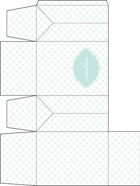 templates for cookie boxes templates for cookie boxes gable box template for cookie