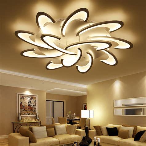moderne kronleuchter led lican modern led ceiling chandelier lights for living room