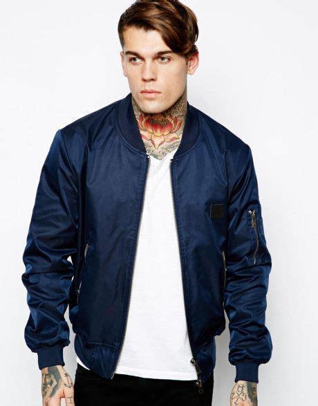 Jaket Bomber Tripple Hizi Navy s blue bomber jacket jackets bomber jackets and clothing