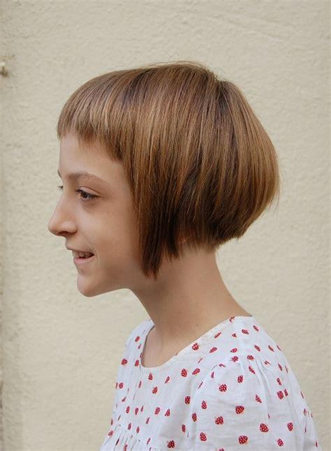 haircut bob girl quot sugar spice quot girl s geometric bob hairstyle for girls
