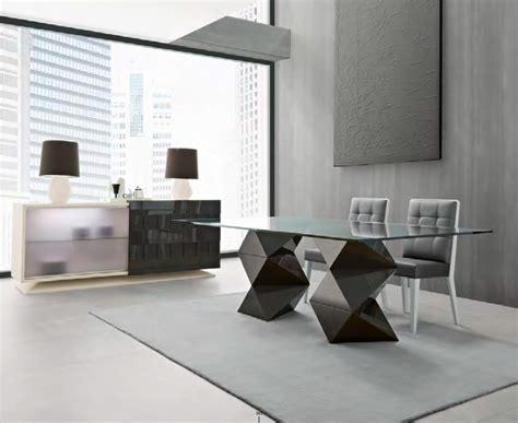 mesas de comedor de madera modernas 7 mesas modernas de cristal protagonistas del comedor