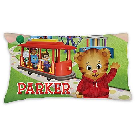 daniel tiger trolley bed daniel tiger trolley pillowcase in green bed bath beyond