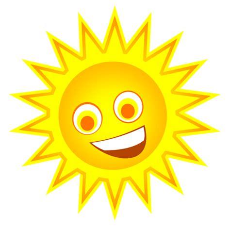 happy sun clip clipart best