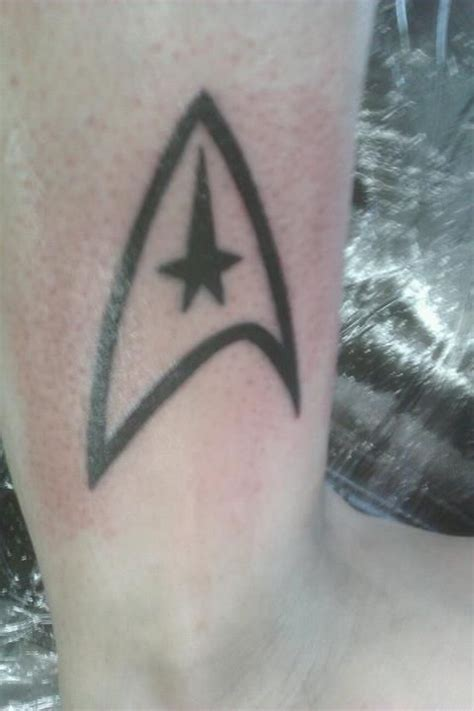 star trek tattoo trek tattoos