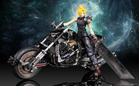 Motorrad Spiele Gratis Downloaden by Fotos Final Fantasy Final Fantasy Vii Schwert Motorrad 3d