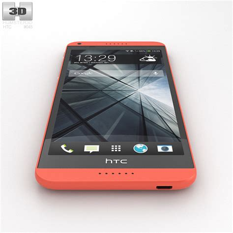 themes of htc desire 816 htc desire 816 red 3d model hum3d