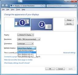 how to configure displaylink displays on windows