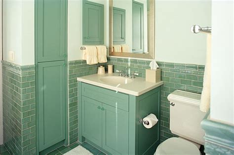 green tile bathroom ideas retro bathroom makeovers