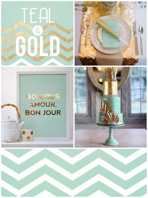 ruby wedding inspiration mint green teal and gold wedding teal gold the inspiationarium design inspiration