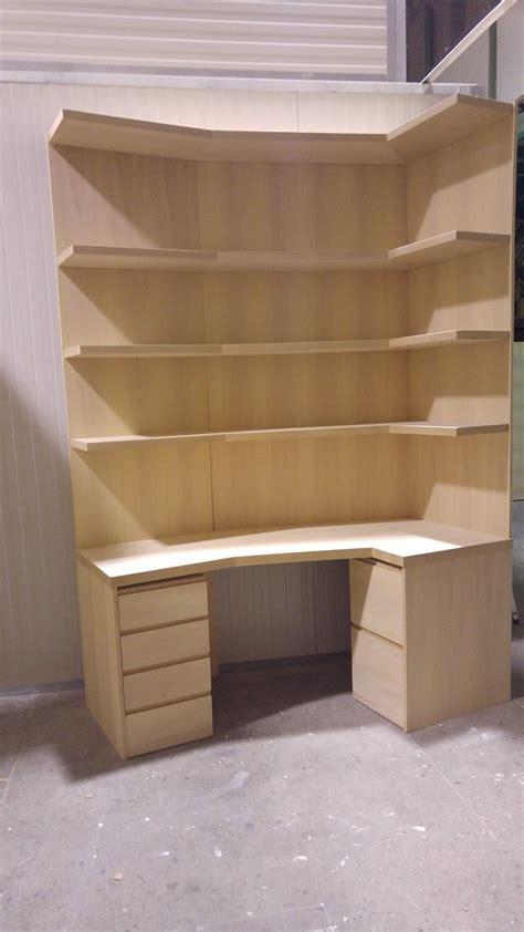 cassettiere ad angolo libreria ad angolo in legno con cassettiere mobili
