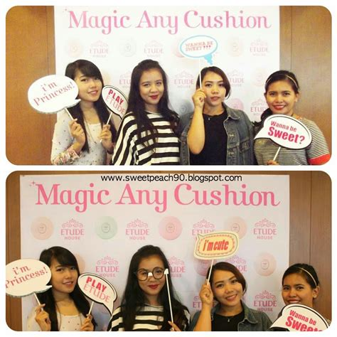 Resmi Etude House Indonesia sweet event etude house magic any cushion launching