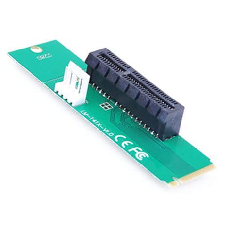 Adapter Converter Card Pci E 4x To Ngff M 2 M Key Riser pci e 4x to ngff m 2 m key adapter lagaiphone se