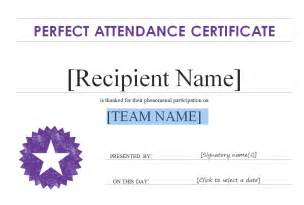 free attendance certificate template certificate idea templates certificate templates