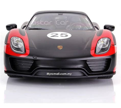 Porsche 918 Electric by Rastar 1 14 Porsche 918 Spyder Electric Series Rc Racing