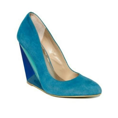 roy shoes 74 roy shoes colorblock blue wedge