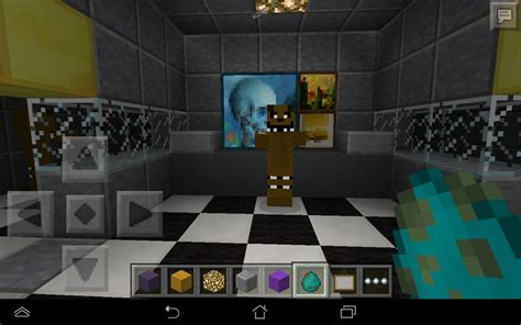 minecraft freddys nights at five five nights at freddy s map adventure minecraft pocket