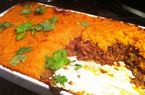 Sweet Potato Cottage Pie Oliver by Indian Shepherd S Pie With Sweet Potato Topping Recipe