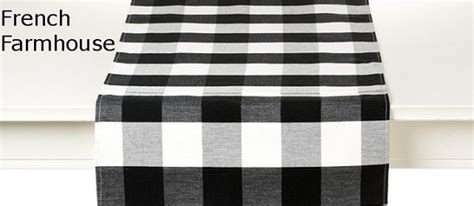 black and white plaid table runner a pattern i m loving buffalo check bright green door