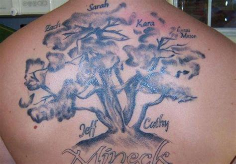 tattoo ideas family names tribal tattoos designs family tree tattoos ideas
