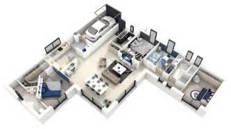 plan de en 3d gratuit en ligne maison moderne