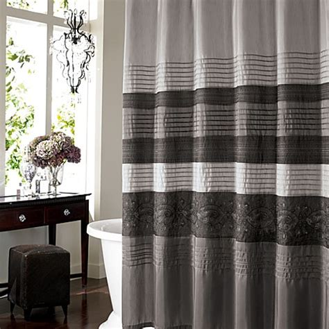 grey curtains bed bath and beyond buy elegant shower curtains from bed bath beyond