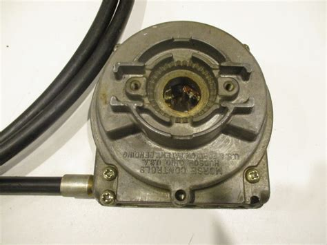 marine cable steering helm e300623 morse 15 marine boat steering cable rotary helm