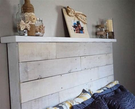 how to make your own wood headboard how to make your own diy pallet headboard