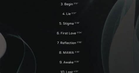 bts drops track list  wings comeback bts album