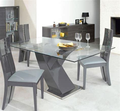 table salle a en verre fly meuble de salon