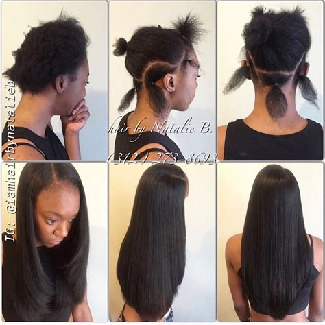 show mi styles of dior weave before after traditional sew in hair weave by natalie