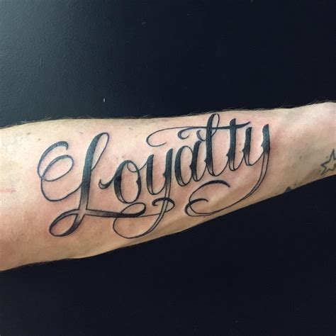 love loyalty tattoo designs 55 best loyalty designs meanings courage honor