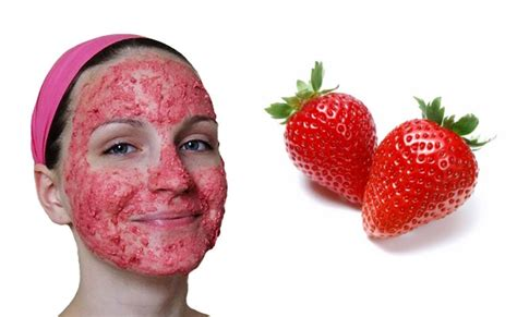 Masker Images Strawberry Fruit Mask Masker Buah Images strawberry mask for youthful and glowing skin