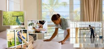 housekeeping weekly services call guards