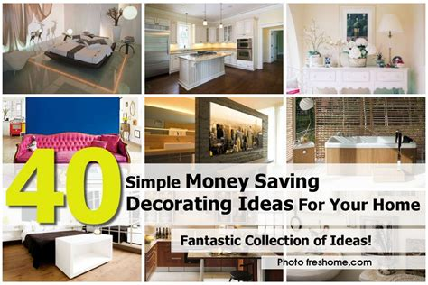 how to start decorating your home freshome com 40 simple money saving decorating ideas for your home