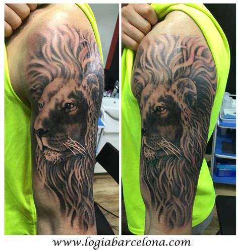 imagenes de leones tatuados tatuajes de leones tatuajes logia barcelona
