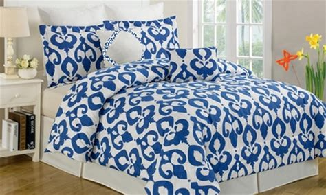 extra fluffy comforter 8 piece extra soft comforter set groupon goods