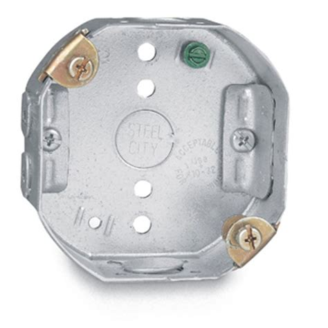 electrical ceiling box shop steel city 15 3 4 cu in ceiling metal electrical box