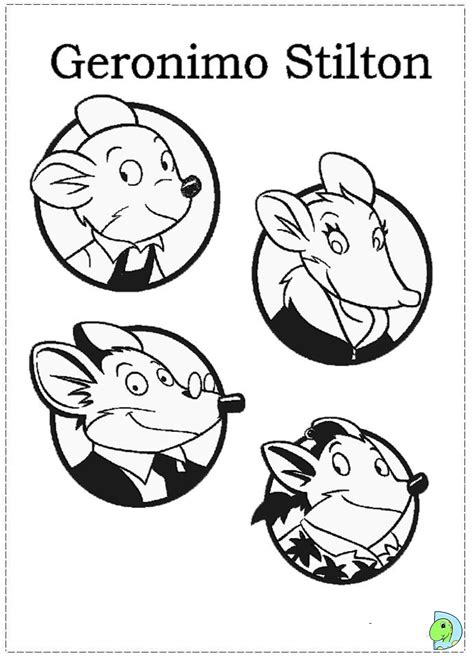 Geronimo Stilton Coloring Pages Az Coloring Pages Geronimo Stilton Colouring Pages