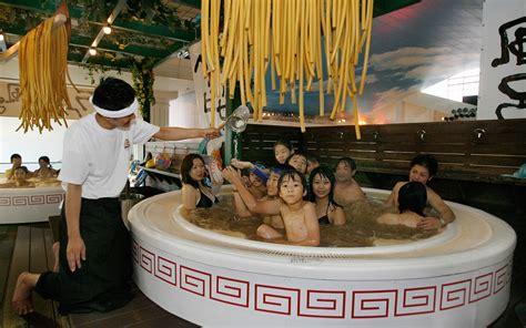 kansaix com ramen baths spa treatment travel leisure