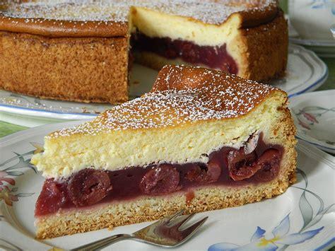 schmand kirsch kuchen kirschkuchen mit schmandhaube dorisd chefkoch de