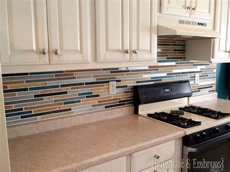 painted kitchen backsplash how to paint a backsplash to look like tile