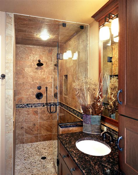 Ideas For Bathroom Remodeling A Small Bathroom Rustic And Country Bathrooms Rustic Bathroom Denver